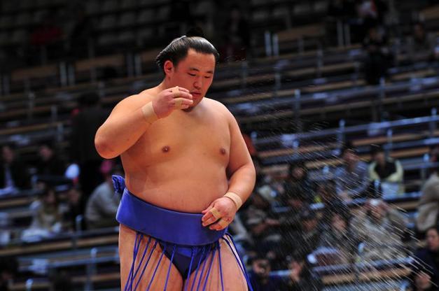 El mongol Tamawashi está siendo una de las sorpresas agradables de este torneo (Foto: Martina Lunau)