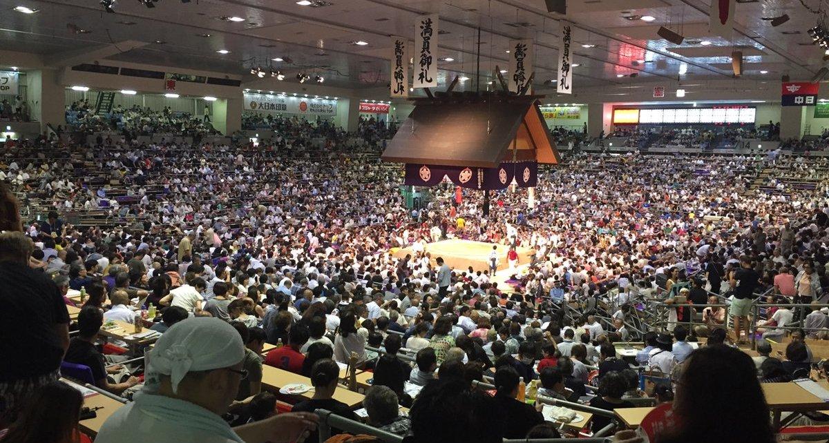 El Pabellón de Nagoya presenta un aspecto inmejorable en estos primeros días de competición