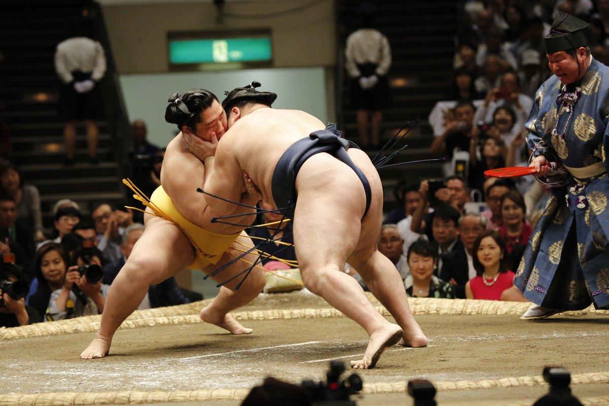 Natsu 2019, día 4 - El sanyaku se recupera de la debacle de ayer