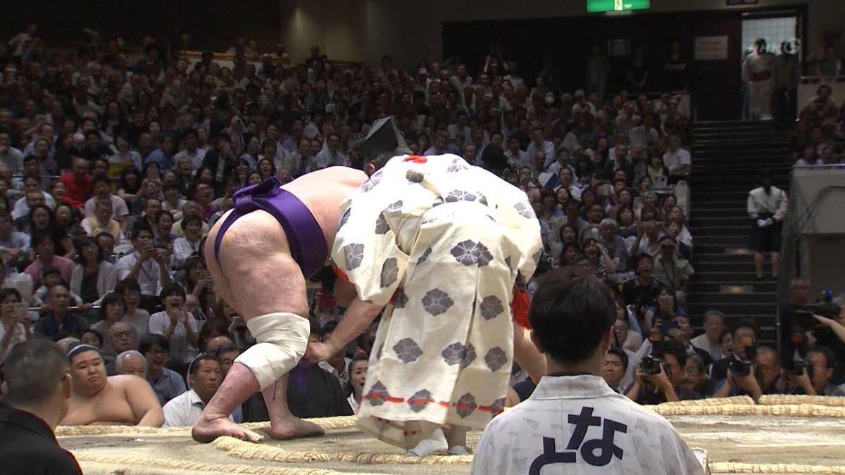 Natsu 2019, día 13 - Asanoyama recupera el liderato con polémica