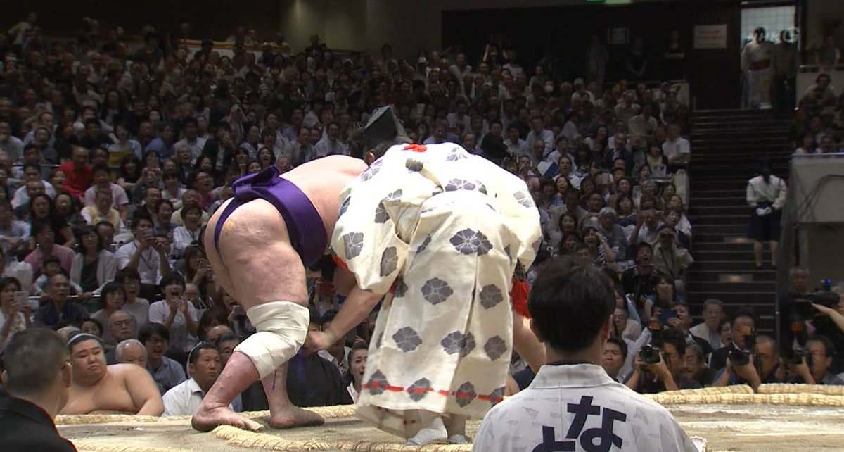 Tochinoshin foot