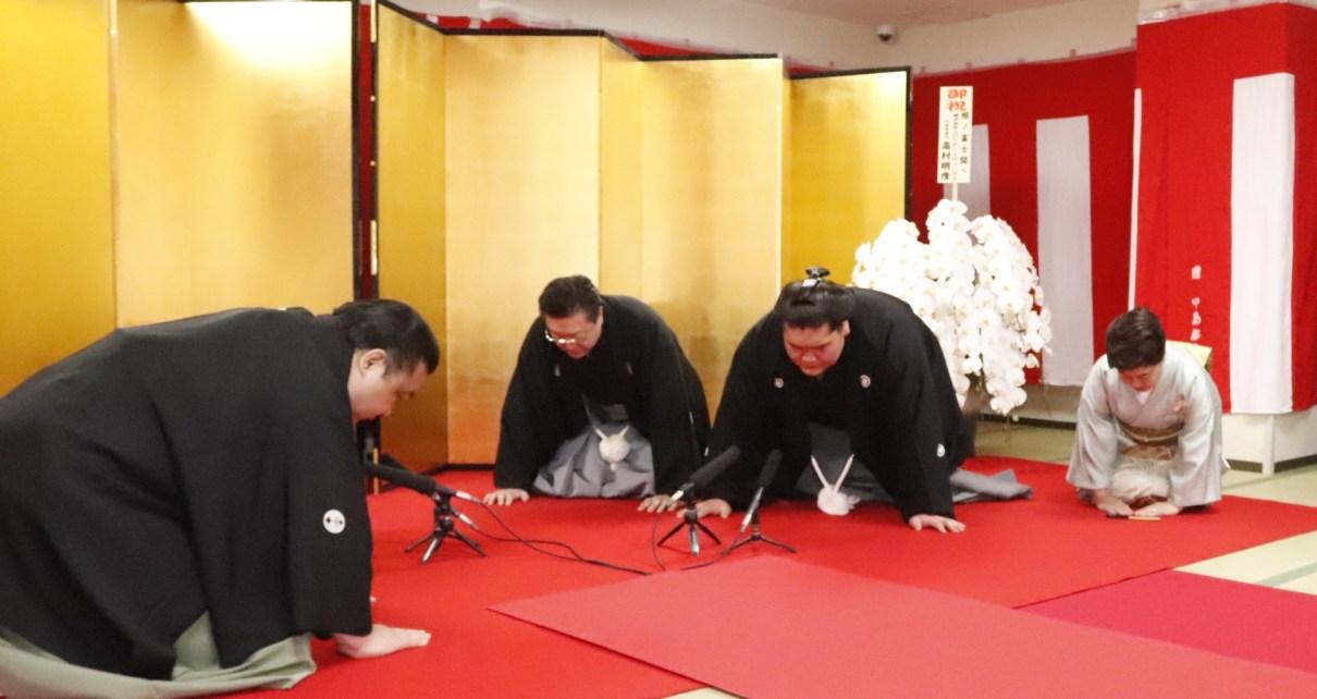 Terunofuji Ozeki promotion