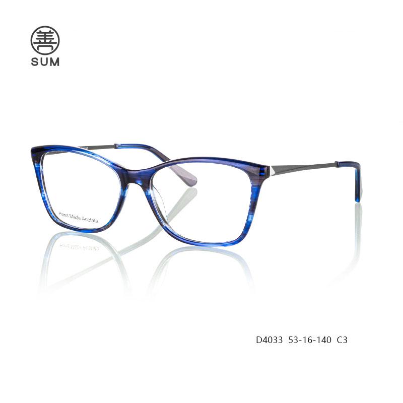 Acetate Eyeglasses For Men D4033 C3