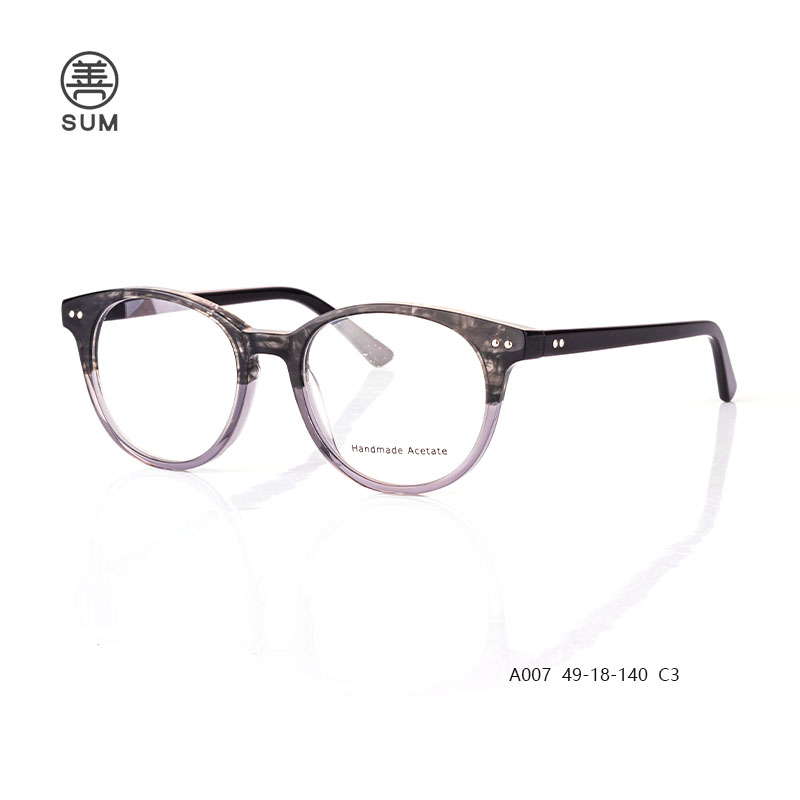 Acetate Eyeglasses For Men A007 C3