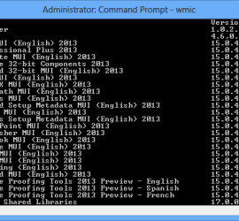 Uninstall Programs using Command Prompt