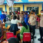 Polda Sumut Gelar Vaksinasi Merdeka Maritim di Belawan