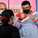 Tinjau Vaksinasi, Bobby Nasution Sebut Vaksinasi di Medan Capai 65,25 Persen