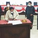 DPRD Karo Setujui Ranperda P-APBD Tahun 2021