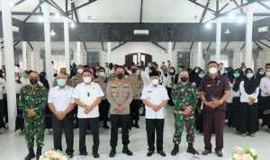 Vaksinasi di Tanjungbalai Capai 35 persen, Plt Walikota Gelar Evaluasi dan Rapat Koordinasi