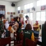 Kodim 0204/DS Kawal Servak Covid-19 Dosis II Pelajar di Perbaungan