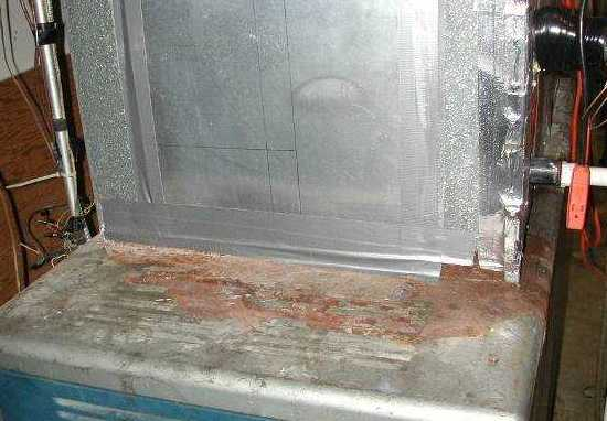 Hvac Condensate Pump Leaking