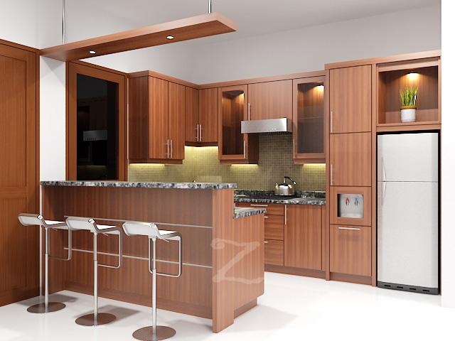 10 Gambar Kitchen Set Minimalis Terpopuler  RUMAH IMPIAN