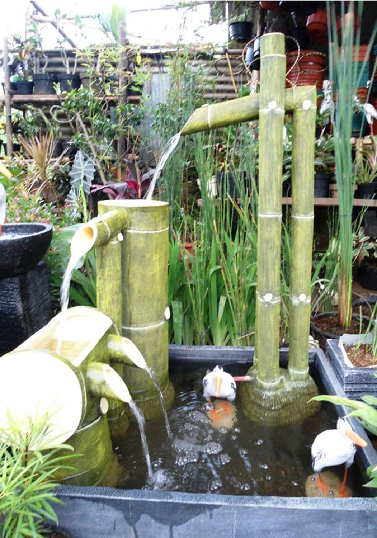 20 Kolam Air Mancur Mini Indah dan Cantik  RUMAH IMPIAN