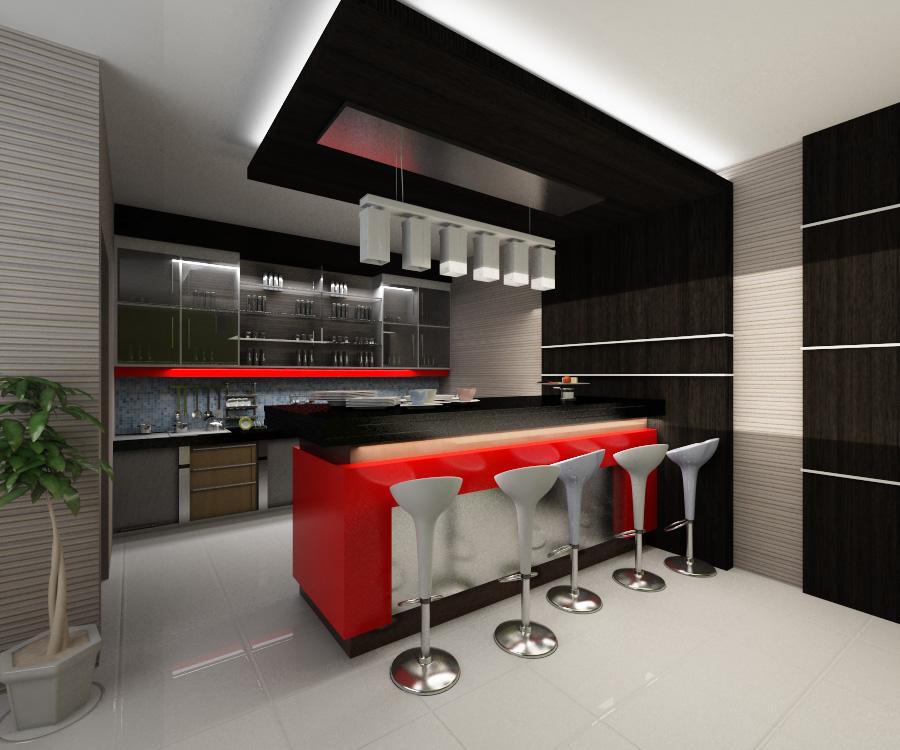 15 Desain Mini Bar Rumah Minimalis Idaman  RUMAH IMPIAN