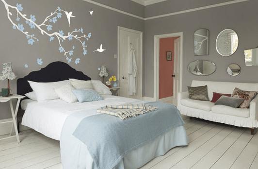 15 Contoh Hiasan Dinding Kamar Tidur Kreatif  RUMAH IMPIAN