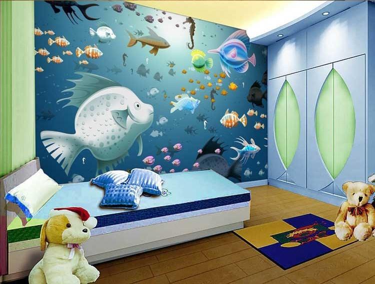 42 Contoh Lukisan di Dinding Kamar Anakanak dan Remaja