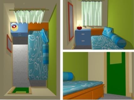 24 Desain Kamar Tidur Sempit Minimalis Ukuran 3x3 | RUMAH ...
