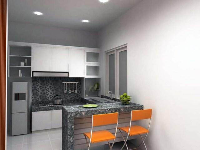 Desain Dapur Minimalis Plus Ruang Makan
