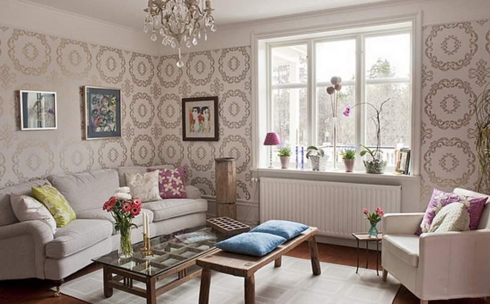 13 Wallpaper Dinding Ruang Tamu Sempit Elegan  RUMAH IMPIAN