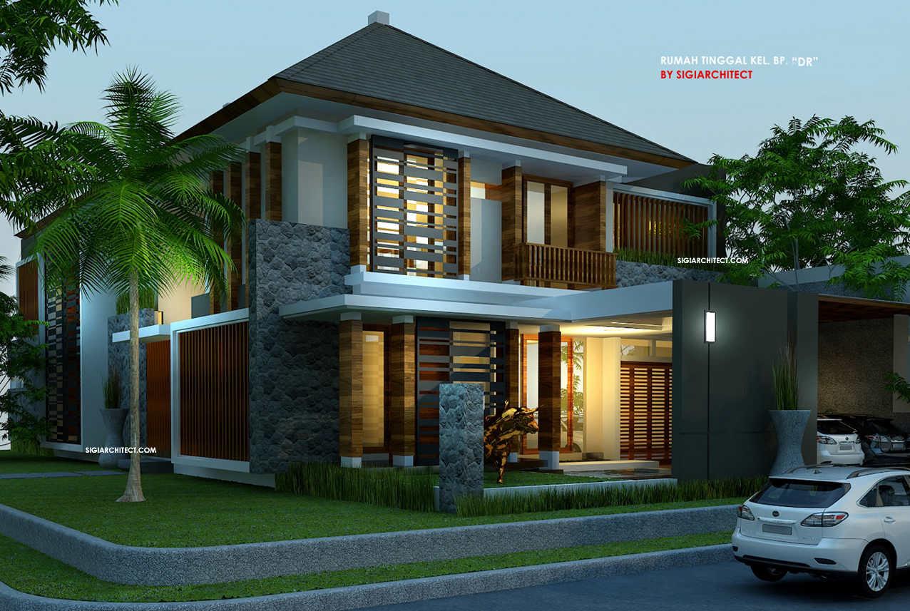 92 Desain Rumah Tropis Modern Minimalis Terbaru