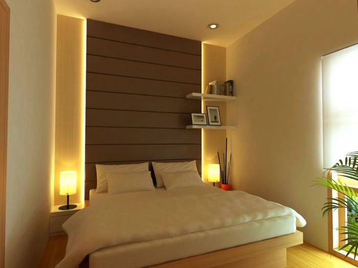 100 Desain Kamar Tidur Utama Ukuran 3x3 yang Cantik