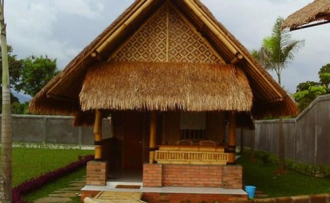 Desain Rumah Bambu Sederhana Contoh Kumpulan
