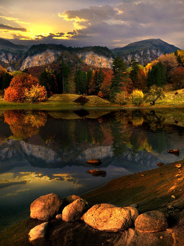 High Mountain Lakes Montana Photo On Sunsurfer