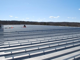 Commercial-Solar-Aluminum-Roof Installers Connecticut
