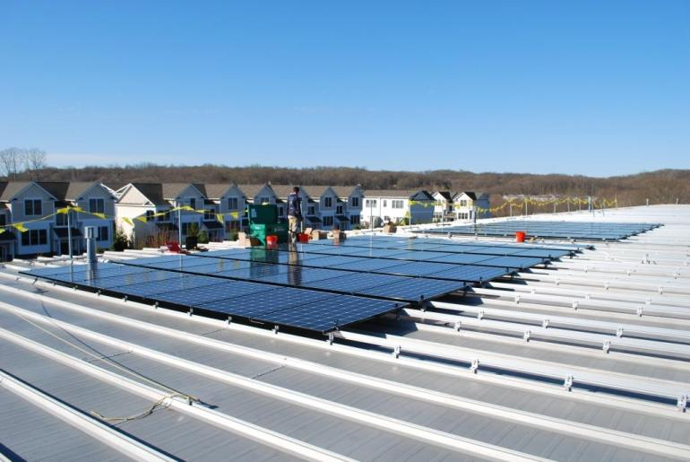 Commercial-Solar-Electric Power System Installer Connecticut