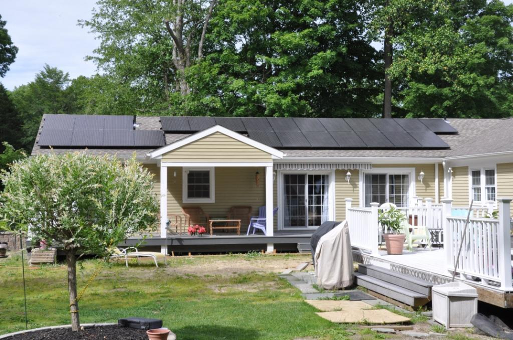 Multi-Array-Home Solar Power System-Monroe-CT