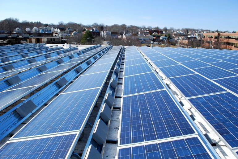 Commercial-Solar-Panels | Sun-Wind Solutions | Fairfield, CT