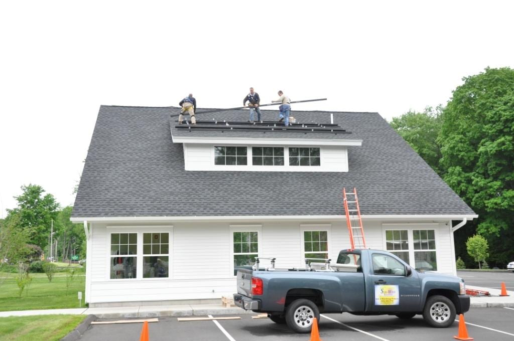 16kW-Commercial-Solar-Array Installer Monroe, CT