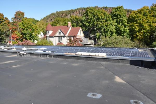 Commercial Solar Electric Power Installers on School Connecticut