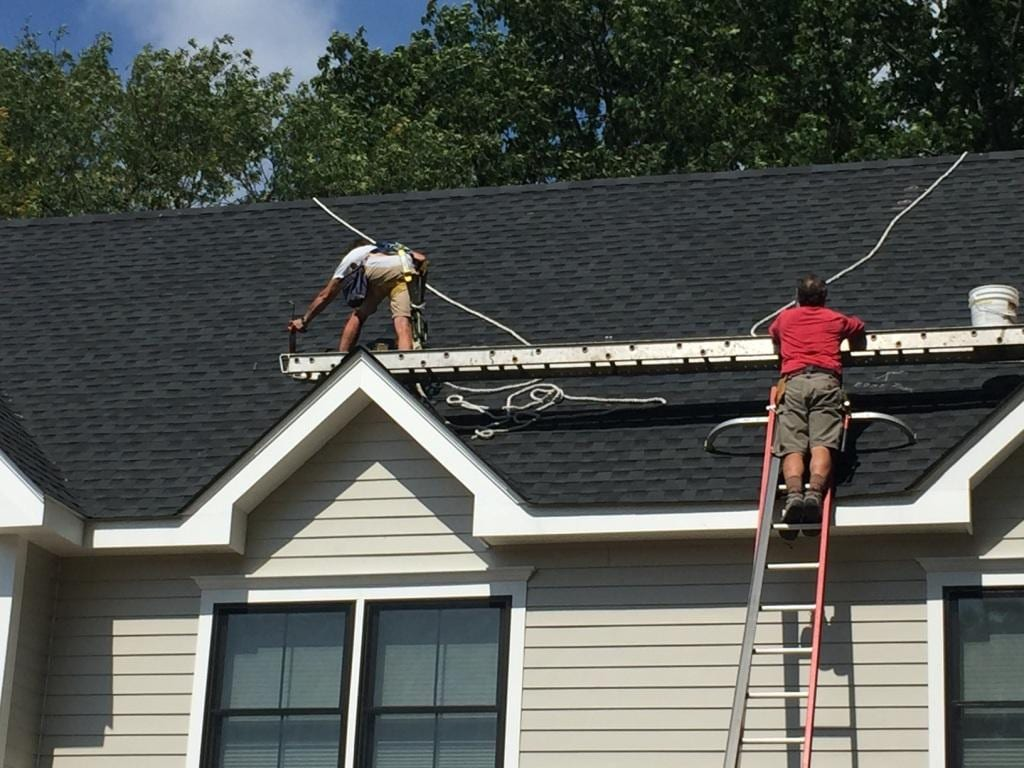 Solar Panel Installation-On-High-Pitch-Roof Connecticut
