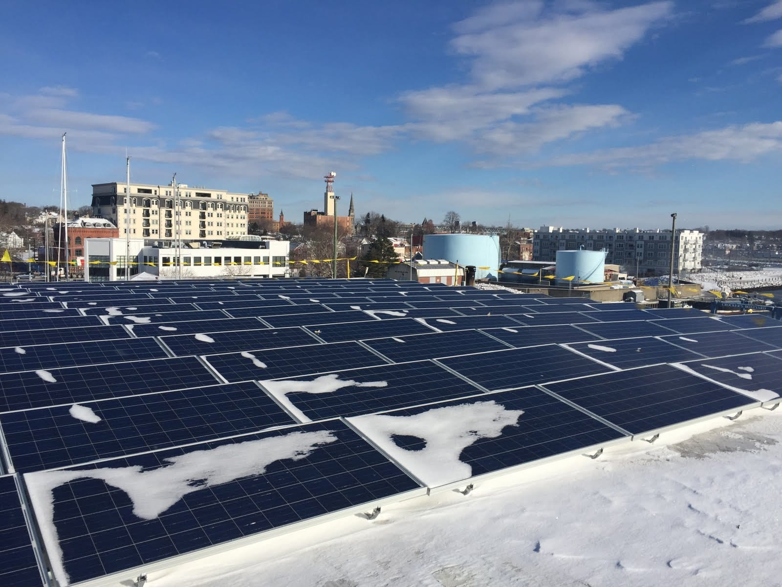 Commerical Solar Power System Installation Connectcut