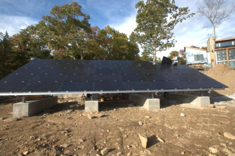 10.4kW-Solar-Ground-Mount Installation Connecticut