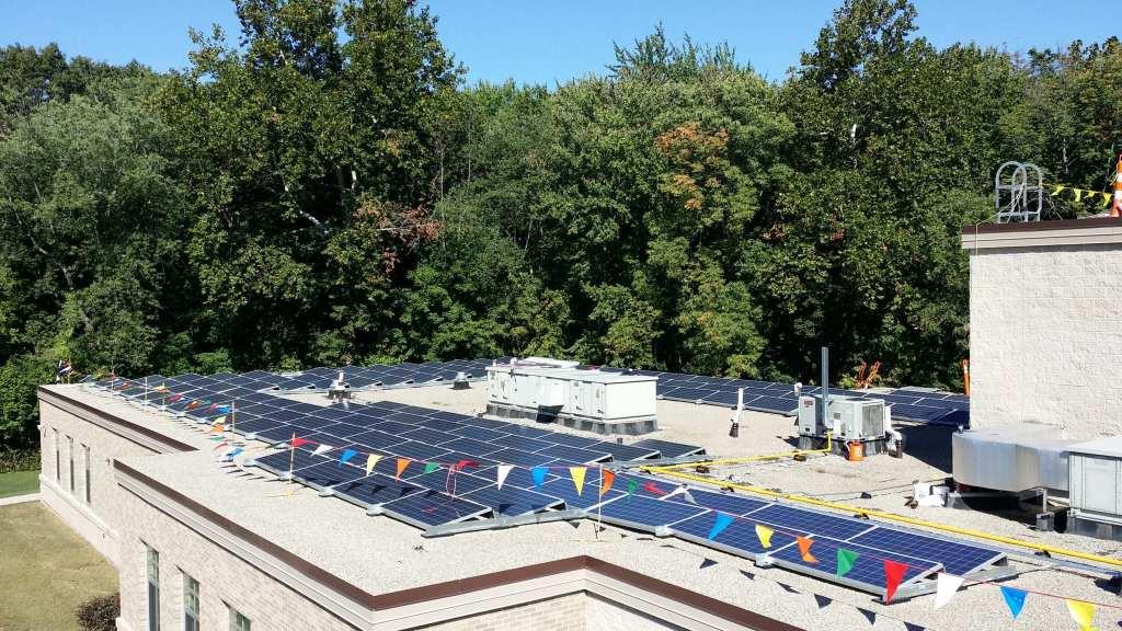 Roof-Mount-Solar-Array Solar Installers Connecticut