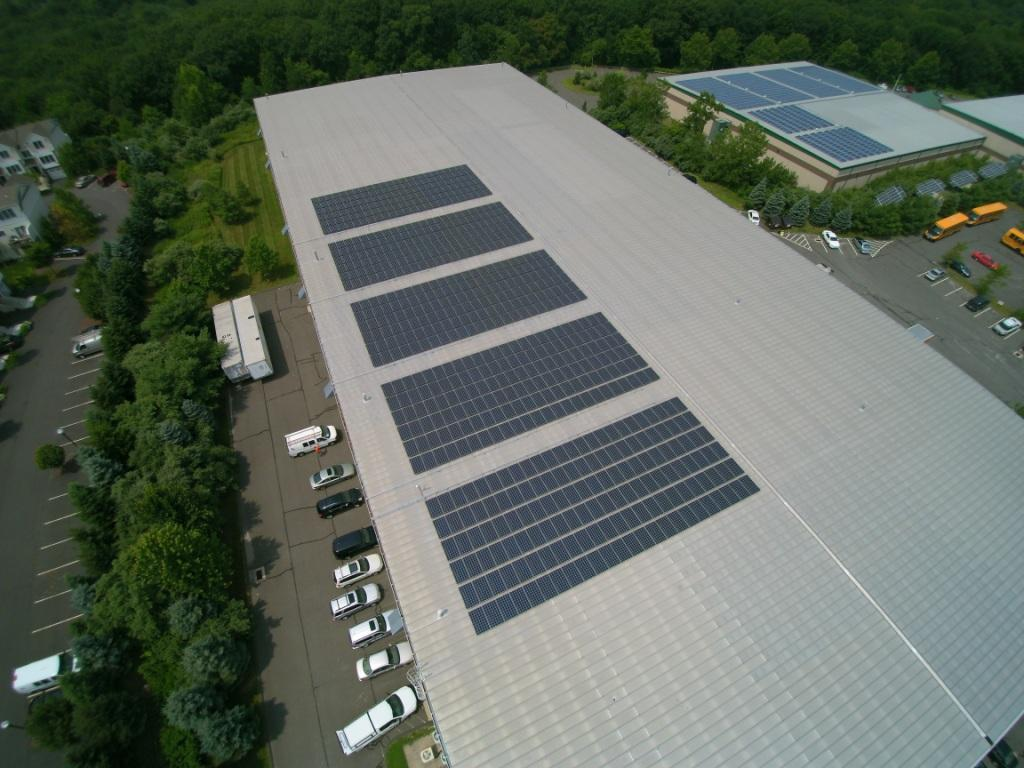 Commercial-Solar-Installation New London, 518 panel, 145kw