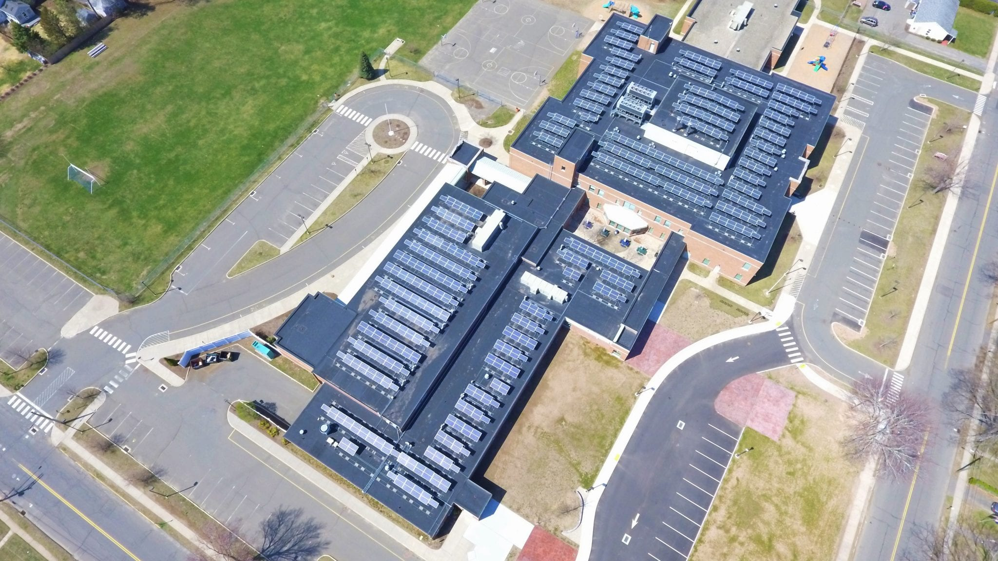 Commercial Solar Operations and Maintenance O&M Solar Inspection Plainville CT-Sun-Wind Solutions