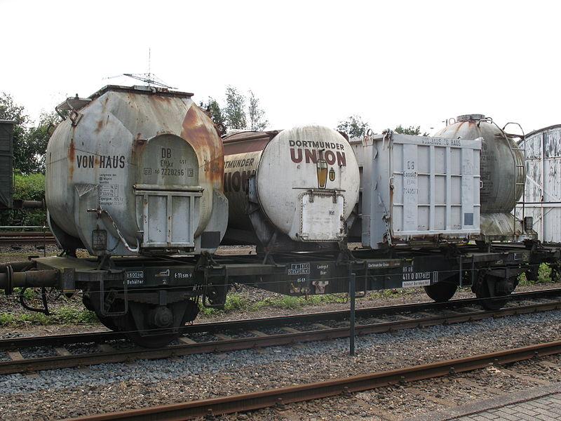 История контейнерных перевозок