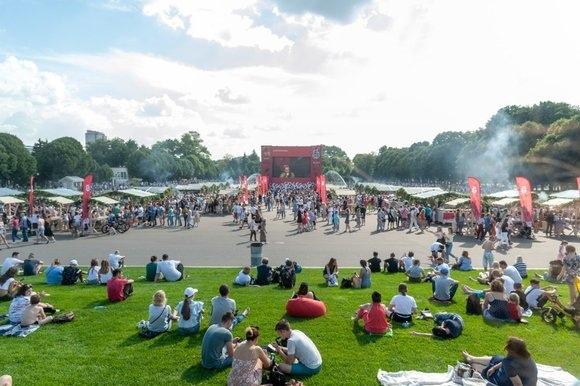 Парк Горького анонсировал очередной фестиваль в день протестной акции