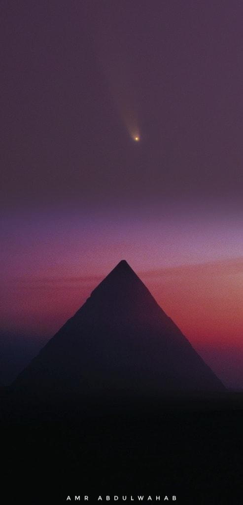Над Землёй пролетает комета Неовизе (Неовайз, C/2020 F3 NEOWISE), она видна невооруженным глазом