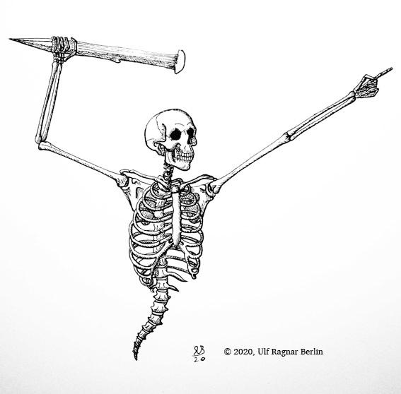 Скелетик художника Ulrabi