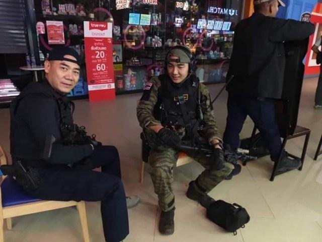 В Таиланде ликвидировали солдата-убийцу (ФОТО И ВИДЕО 18+)