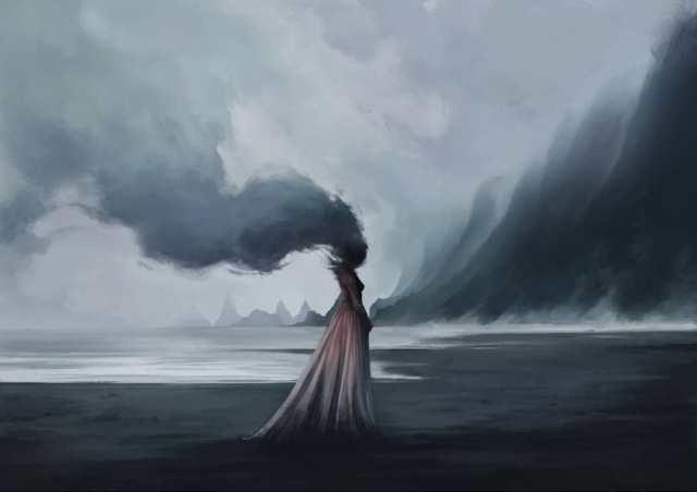 Атмосферные работы художника Maéna