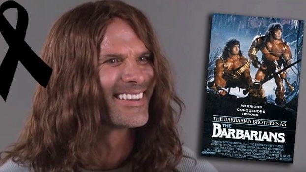 Умер Дэвид Пол - один из братьев-близнецов, которые исполнили главные роли в фильмах «Няньки» и «Варвары»