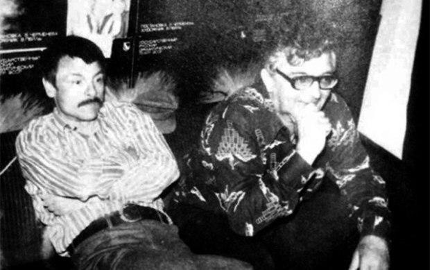 Андрей Тарковский и Аркадий Стругацкий на съемках фильма «Сталкер»
