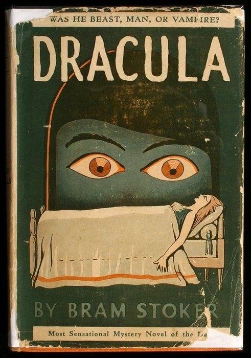 Винтажные обложки книг «Дракула»