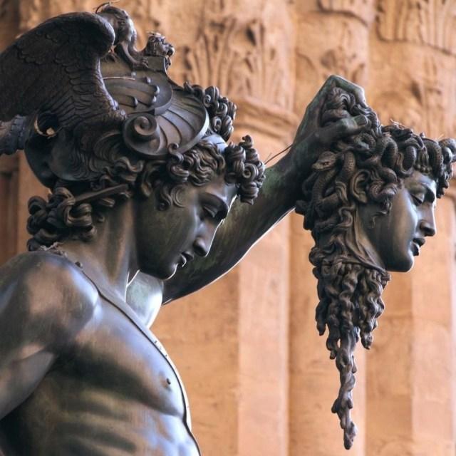 Персей с головой Медузы, ок. 1571. Итальянский скульптор Бенвенуто Челлини