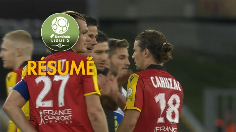 resume video quevilly auxerre